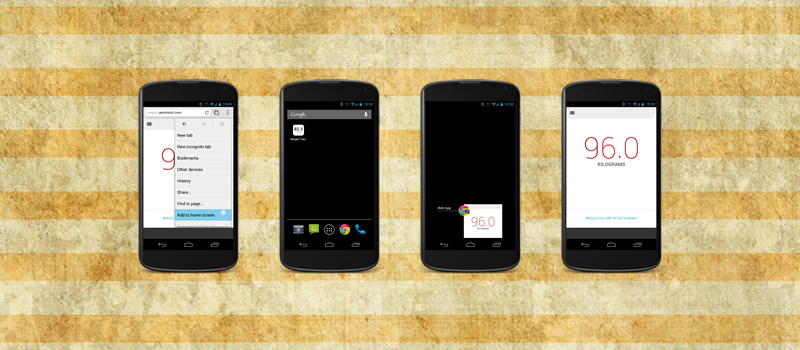 Add to Homescreen, la nueva funcionalidad de Chrome para Android